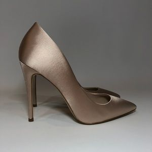 ALDO Cassedy Satin Nude Pumps